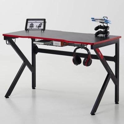 에이픽스 1인용 컴퓨터 게이밍 책상 GD001 1200 1200x600