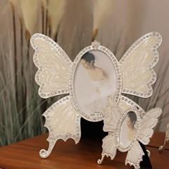 나비 액자 탁상액자