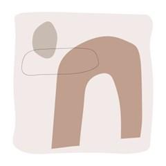 [oloniq MADE] 연결(CONNECTION) 사각그림