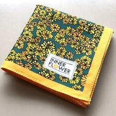 제이씨핸즈 이너플라워손수건 01_Flower of Yellow
