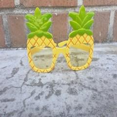 하와이파인애플 안경 뿔테