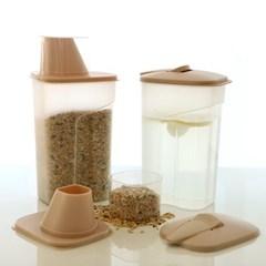 [비스비바] 루멘 다용도 캐니스터 1.5L (곡물/양념통)