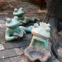 풍수장식품 개구리 조각상 장식품