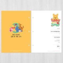 제이밀크 수유일지/신생아일지 리필내지(A5바인더 전용)-곰돌이 푸
