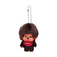 Big Head Monchhichi SS Boy Keychain
