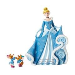 디즈니 쇼케이스 신데렐라와 쥐 두마리 피규어 21cm_E6002181