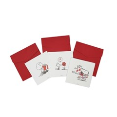 피너츠 스누피 3종 카드