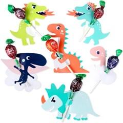 가자! 공룡 왕국 막대사탕 데코페이퍼 12개 (2set)