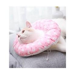 Healing Time 도넛 쿠션 넥카라 - 핑크래빗 (sj)