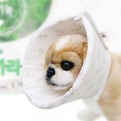 Dog Pose 순면감촉 유기농 핥지마 넥카라 - S,M,L (sj)
