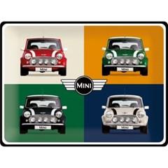 노스텔직아트[23254]Mini - 4 Cars Pop Art