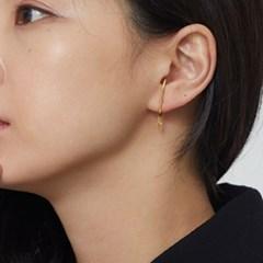cross cuff earring