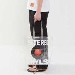 [SM20 SV X Sesame Street] Clear PVC Bag(White)_(763686)