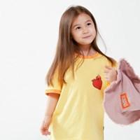 [SM20 SV X Sesame Street] Love Elmo T-Shirts for Kid_(763695)