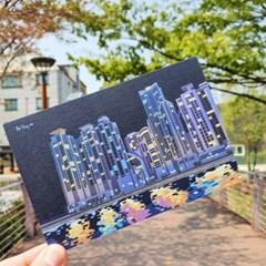 우리나라너무예뻐 부산은 너무 예쁘다 더베이101 디자인 엽서