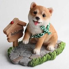 시바이누 강아지 장식품 시리즈