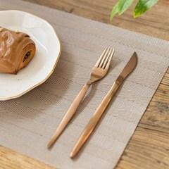 브라운 톤 식탁매트(디자인선택)