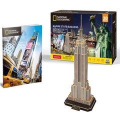 큐빅펀 3d퍼즐 내셔널지오그래픽 뉴욕엠파이어스테이트빌딩