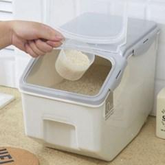 이동식 모던 밀폐 쌀통 10kg
