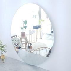 아트벨라 노프레임 타원형 거울 600x800