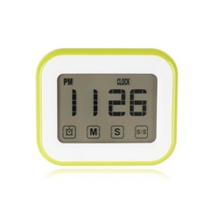 LED 터치스크린 다용도 디지털 타이머 시계 GT001-GR