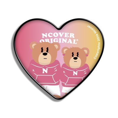 Gradation Couple hoodie bruin(heart tok)_(1526652)