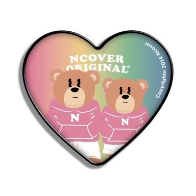 Gradation Couple hoodie bruin-rainbow(heart tok)_(1526651)
