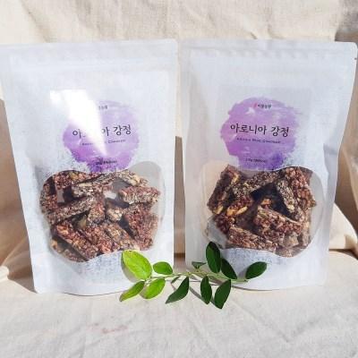 [비봉농원] 국내산100% 아로니아 견과류 씨앗강정 210g 견과류강정