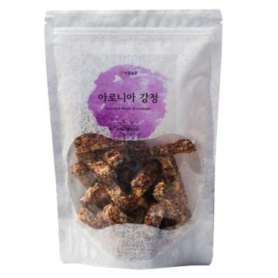 [비봉농원] 국내산100% 아로니아 견과류 씨앗강정 120g 견과류강정