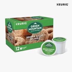 그린마운틴 커피 브라운 슈가크럼블 도넛 12p_(983330)