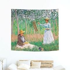모네 인테리어포스터 창문 지베르니의숲속 150x130_(1444748)