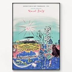 메탈 모던 바다 풍경화 그림 포스터 액자 라울 뒤피 14