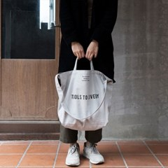Tools to Liveby TOTE BAG (gray)