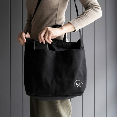 Tools to Liveby TOTE BAG (Black/M)