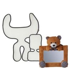 조이 스테이지스 카시트전용 쿨시트/곰인형 후방거울