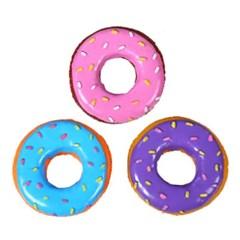 TTpet 도넛 (고무) 삑삑이 x 2개 -색상랜덤 (sj)