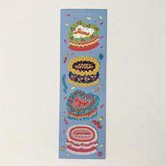 캘린더 케이크 3탄 홀로그램 스티커