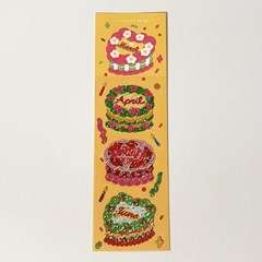 캘린더 케이크 2탄 홀로그램 스티커