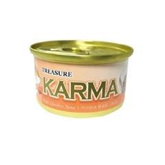 카르마 고양이캔가다랑어+치킨 80g 24개/고양이간식