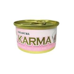 카르마 고양이캔 가다랑어+게맛살 80g 24개/고양이간식