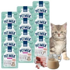 뉴트리플랜 펫밀크 고양이전용 50ml x 12개 유당분해_(917692)