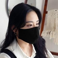 필터 내장형 마스크 DIY 패키지 (성인용 블랙)