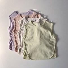 히) 밀크 아동 나시 티셔츠