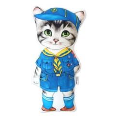 고양이삼촌 쿠션 - 보이스카우트 콜