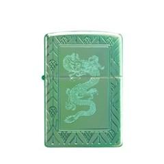 BEST 名品 [ZIPPO] 49054 ARMOR HIGH POLISH GREEN ELEG_(1866940)