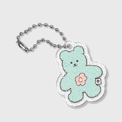 Blossom bear friends-green(글리터키링)_(1549486)