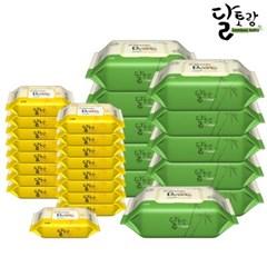 [달토랑]미세플라스틱 없는 대나무물티슈 70매10팩+20매16팩