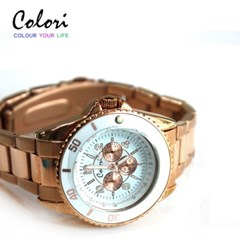 [컬러리]컬러리 글램시계 네델란드 수입제품 가죽시계