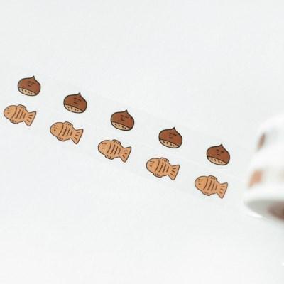백반 마스킹테이프 SET - 밤붕어빵 BB240