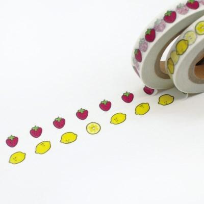 백반 마스킹테이프 SET - 딸기레몬 BB237